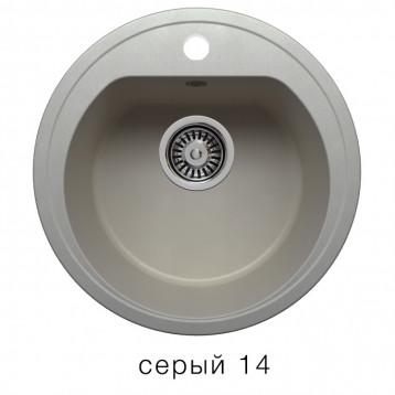 Кухонная мойка POLYGRAN F-05 серый