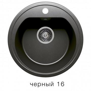 Кухонная мойка POLYGRAN F-05 черный