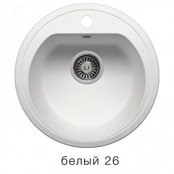 Кухонная мойка POLYGRAN F-05 белый