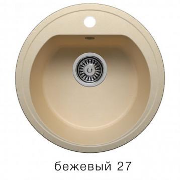Кухонная мойка POLYGRAN F-05 бежевый