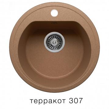 Кухонная мойка POLYGRAN F-05 терракот