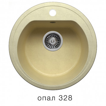 Кухонная мойка POLYGRAN F-05 опал