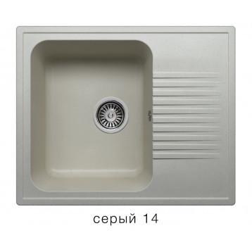Кухонная мойка POLYGRAN F-07 серый