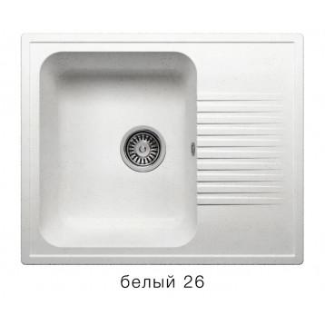 Кухонная мойка POLYGRAN F-07 белый