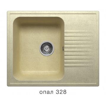 Кухонная мойка POLYGRAN F-07 опал
