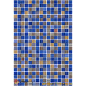 Гламур 2Т голубой, 27,5х40 керамин плитка настенная