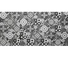 Algorithm Black alta-cera 25х50, настенный декор