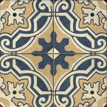 Sevilla пэчворк, многоцветный Cersanit 42х42, глазурованный керамогранит