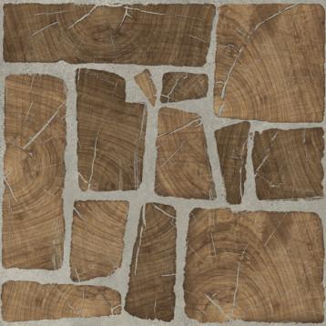 Woodland, коричневый, Cersanit 42х42, глазурованный керамогранит