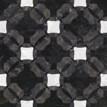 Queen узоры, многоцветный, Cersanit 42х42, глазурованный керамогранит