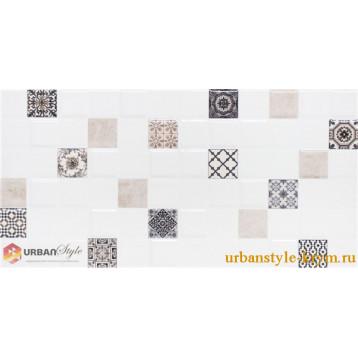 Astrid 1 кофейный декор lb-ceramics 20х40, плитка настенная