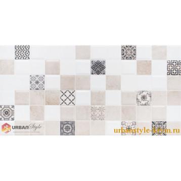 Astrid 2 кофейный декор lb-ceramics 20х40, плитка настенная