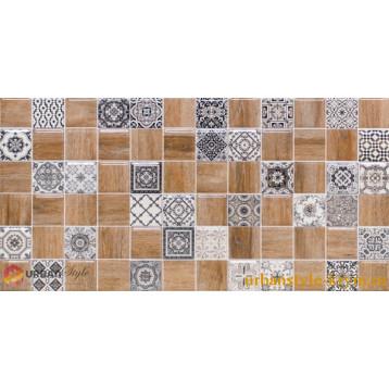 Astrid 3 натуральный декор lb-ceramics 20х40, плитка настенная