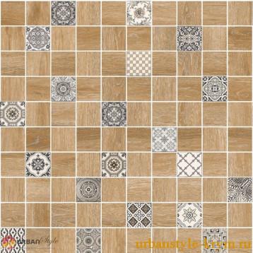 Astrid натуральный декор lb-ceramics 30х30, глазурованный керамогранит