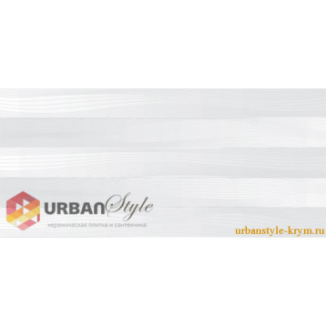 Batik светло серый 23х50 intercerama, плитка настенная