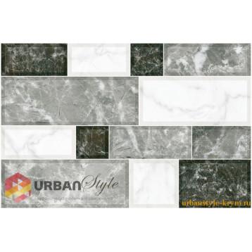 Grani серый 23х35 intercerama плитка настенная