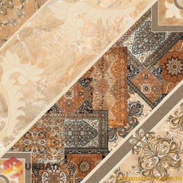 Carpets темно коричневый 43х43 intercerama плитка напольная