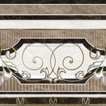 Kronos 61х61 alma ceramica, напольный прямой декор
