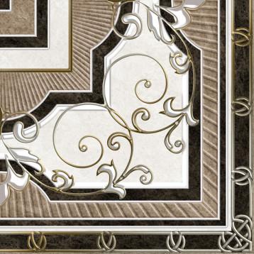 Kronos 61х61 alma ceramica, напольный угловой декор