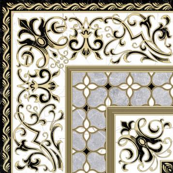 Marmara 61х61 alma ceramica, напольный декор угловой