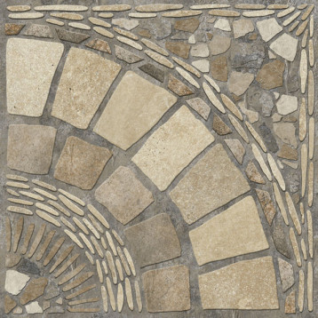 Stail камень угловой 60х60 alma ceramica, глазурованный керамогранит ректификат