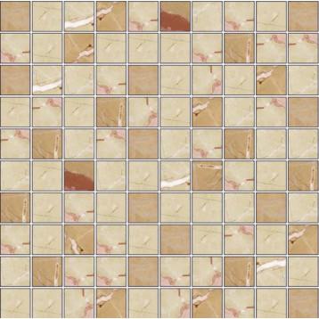 Armonia Benidorm Mix 2 Dorado/Crema 30,8x30,8 Kerasol, мозаика керамическая