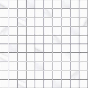 Estatuaria Blanco Armonia 30,8x30,8 Kerasol, мозаика керамическая