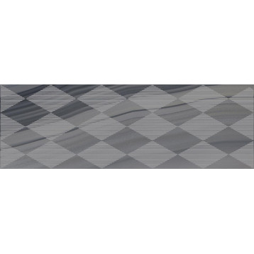 Agat Geo серый Laparet 20х60, настенный декор