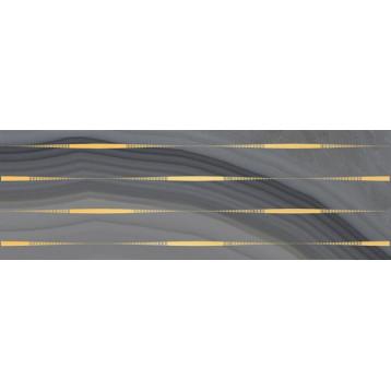 Agat Lines серый Laparet 20х60, настенный декор