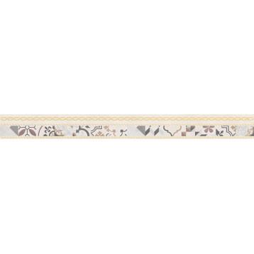 Alabama бежевый микс Laparet 6х60, настенный бордюр