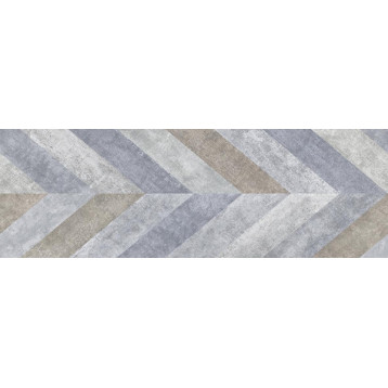 Allure серый светлый Laparet 20х60, плитка настенная