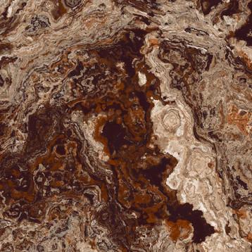 Brouni коричневый 60x60 Laparet, обрезной глазурованный керамогранит