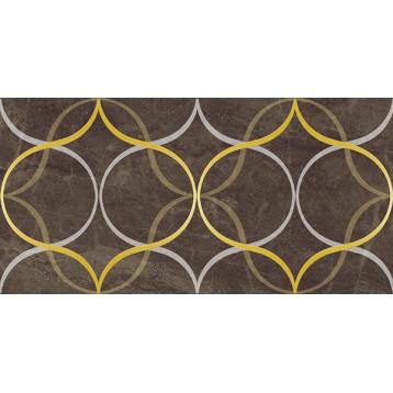 Crystal resonanse коричневый Laparet 30х60, настенный декор