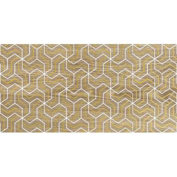 Genesis fractal темно-бежевый Laparet 30х60, настенный декор