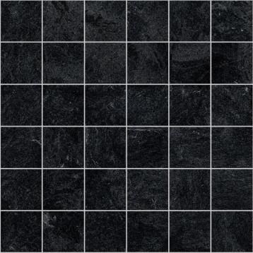 Hard черный Laparet 30х30, настенная мозаика
