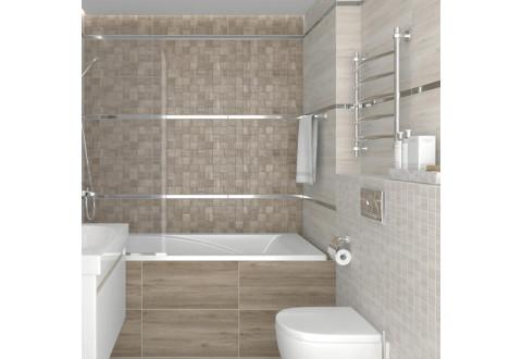 Timber бежевый мозаика laparet керамогранит 30x60 - Интернет магазин Urban Style