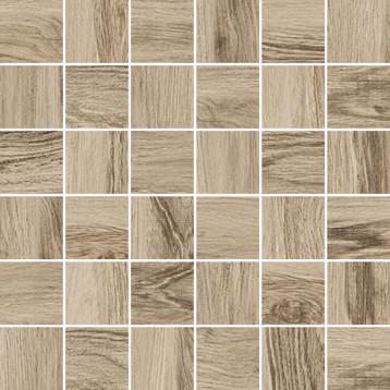 Forest коричневый Laparet 30х30, настенная мозаика