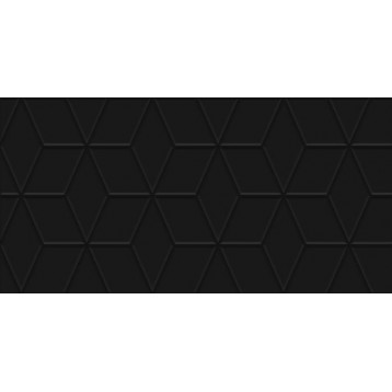 Tabu черный рельеф laparet 30x60, настенная плитка