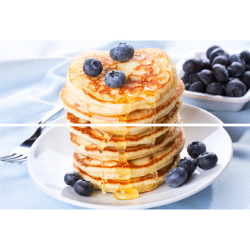 Beveled Tile Pancakes 20х30, настенное панно