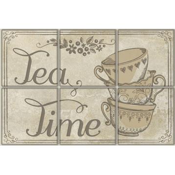 Vintage Voyage Tea Time 20х30, настенный декор