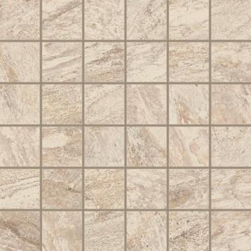 Альпы белый мозаика 30x30 ColiseumGres, глазурованный керамогранит