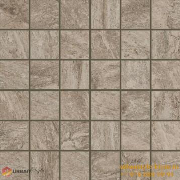 Альпы серый мозаика 30x30 ColiseumGres, глазурованный керамогранит
