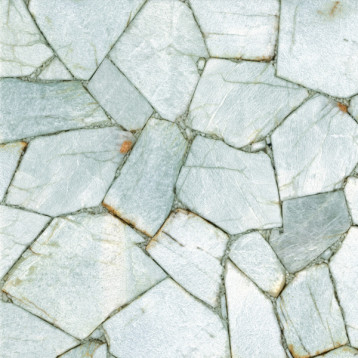 Amazonit Seleste Delacora 41х41, глазурованный керамогранит