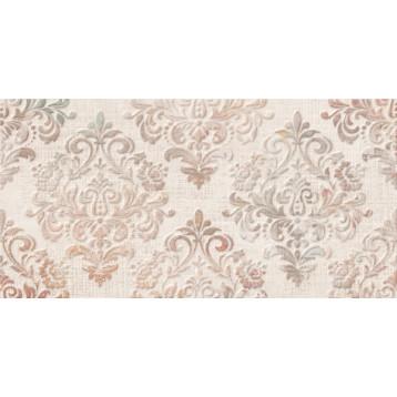 Medea бежевый узор 25х50 Global Tile,  плитка облицовочная