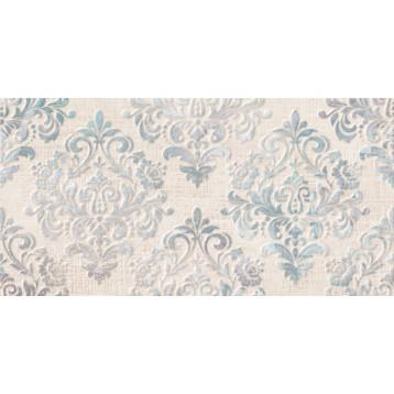 Medea голубой узор 25х50 Global Tile,  плитка облицовочная