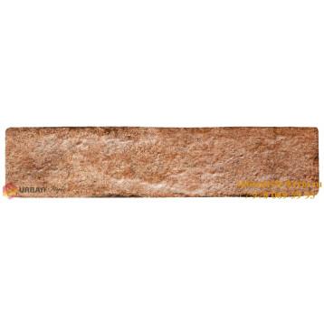 Brick Style Seven Tones оранжевый 6х25 Golden Tile, фасадная плитка