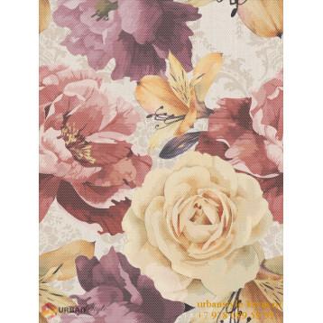 Gobelen Flower бежевый 25х33 Golden Tile, настенная плитка
