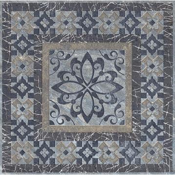 Бромли серый темный 19,6х19,6 Kerama Marazzi, напольная вставка