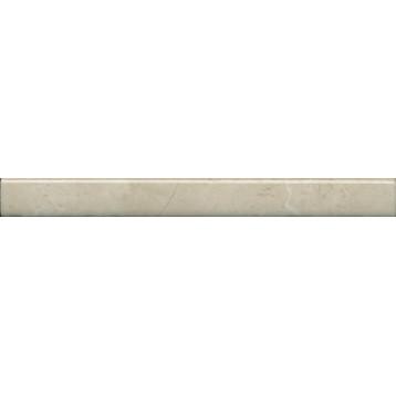 Эль-Рояль бежевый 20х2, бордюр карандаш настенный