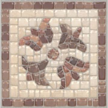 Пантеон 9,6х9,6 Kerama Marazzi, напольная вставка лаппатированный